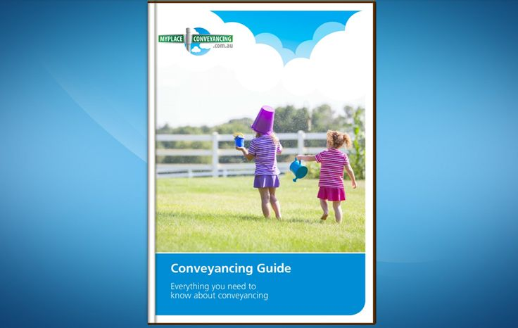 Conveyancing Guide (Free eBook)  http://blog.myplaceconveyancing.com.au/property-law/conveyancing-guide/