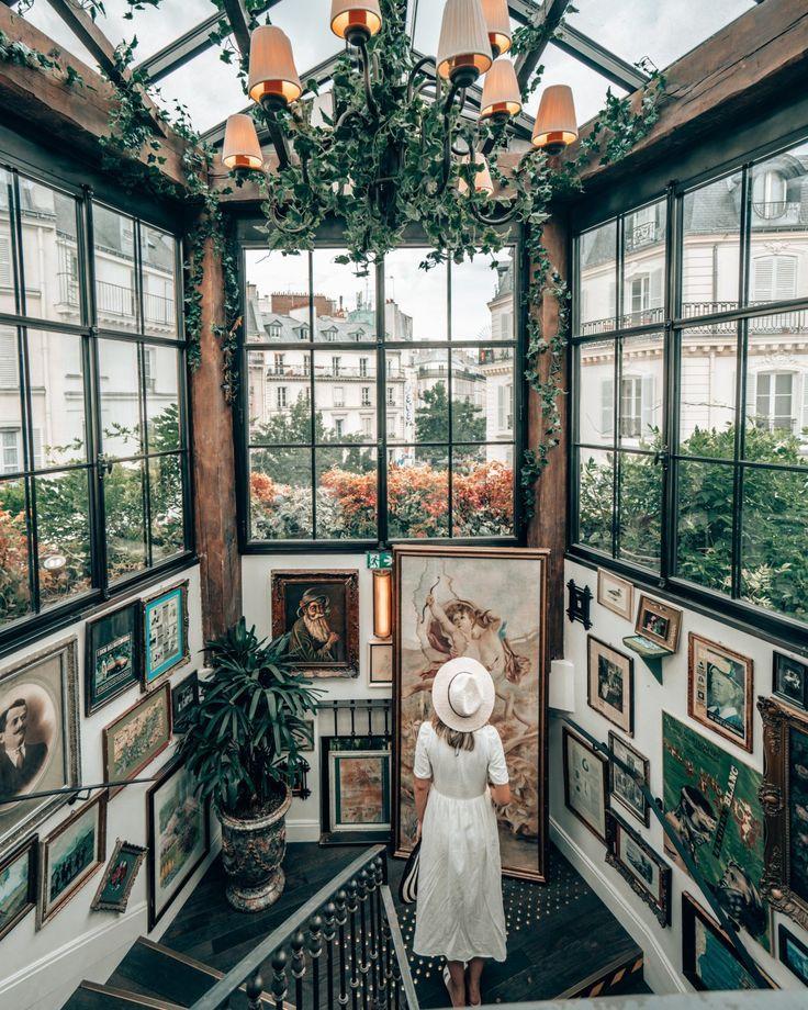 rosa mamma restaurant   Paris Restaurants   wo man in paris essen kann   instagr …  – Reiseziele – Reisetipps