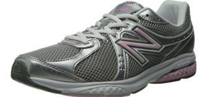 New Balance Women's WW665 - Walking Shoes for High Arches