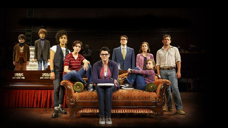 Welcome to Fun Home! Now on tour across the U.S. Based on Alison Bechdel's best-selling graphic memoir. Music by Jeanine Tesori. Book by Lisa Kron. Directed by Sam Gold. Winner of 5 Tony Awards including Best Musical!