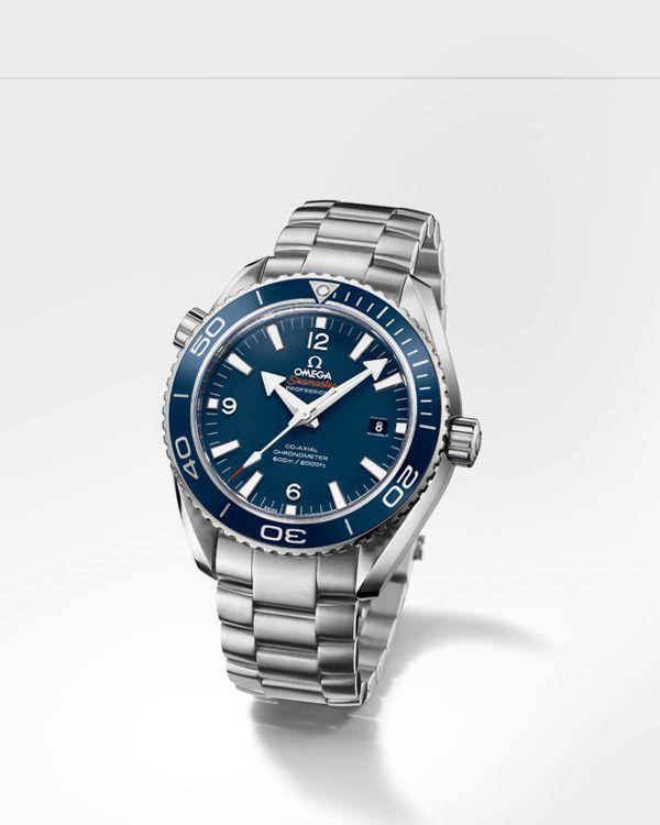 OMEGA Watches: Seamaster Planet Ocean 600 M Omega Co-Axial 45.5mm - Titanium on titanium - 232.90.46.21.03.001