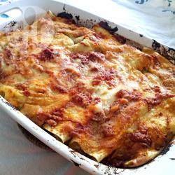 Foto della ricetta: Cannelloni fatti in casa ripieni di carne macinata