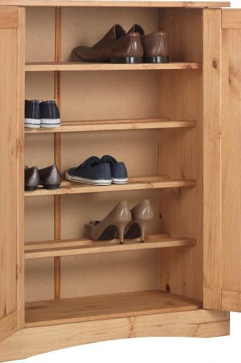 Collection Puerto Rico Shoe Storage Cabinet Antique Pine 1 220x330 Storage solutions to prevent a cluttered home