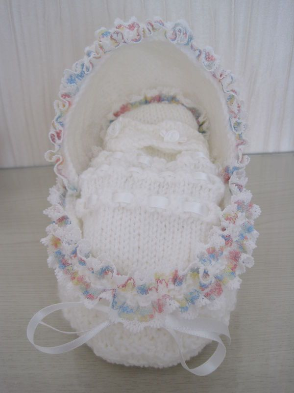 Angel Crib Knitting Pattern : Hooded Crib (K) knitting for charity Pinterest Cribs and The ojays