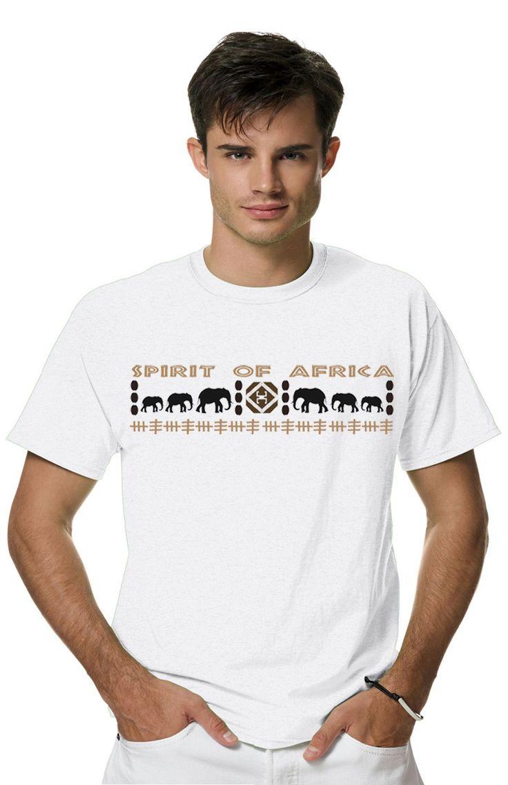 АФРИКАНСКИЙ ОРНАМЕНТ - СЛОНЫиз коллекции SPIRIT OF AFRICA пропитана духом африки, вобрала в себя стиль свободы и мистики! В ней сочетается отличное качество нанесения принта, кроя футболок и плотности ткани.