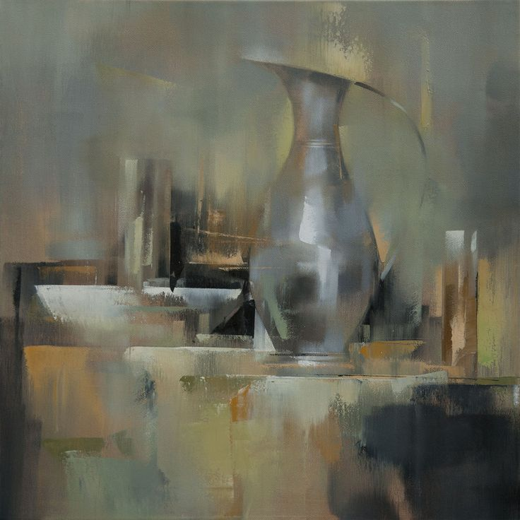 Saatchi Online Artist: Barry Patterson; Oil, 2013, Painting Still Life XII