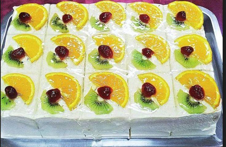 De departe cea mai aratoasa prajitura de anul acesta – Prajitura Visul Fructelor