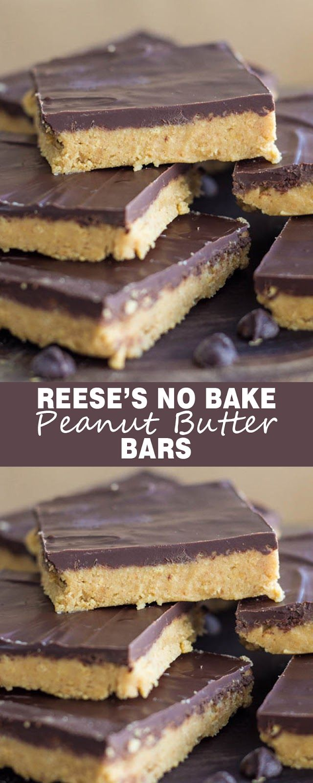 REESE'S NO BAKE PEANUT BUTTER BARS