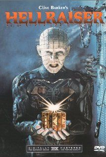 Hellraiser.  1987.  Clive Barker, writer & director.  The only one of the franchise worth viewing.
