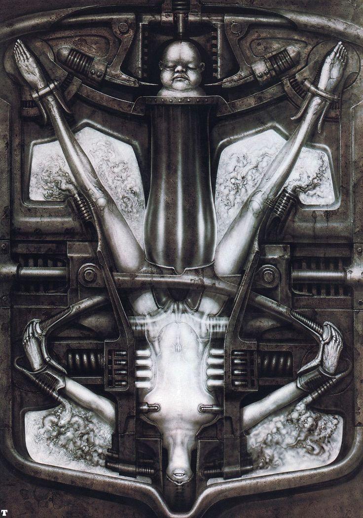 Hans Rüdi Giger: Deathbirth Machine I
