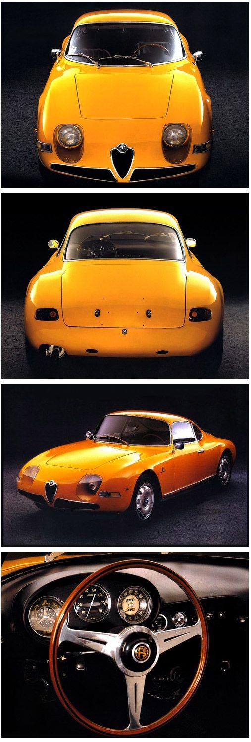 """Una de las versiones más antiguas de un modelo actual de la firma italiana. Alfa Romeo Giulietta """"Goccia"""" 1961"""