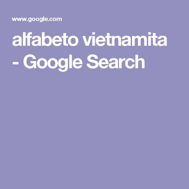 alfabeto vietnamita - Google Search