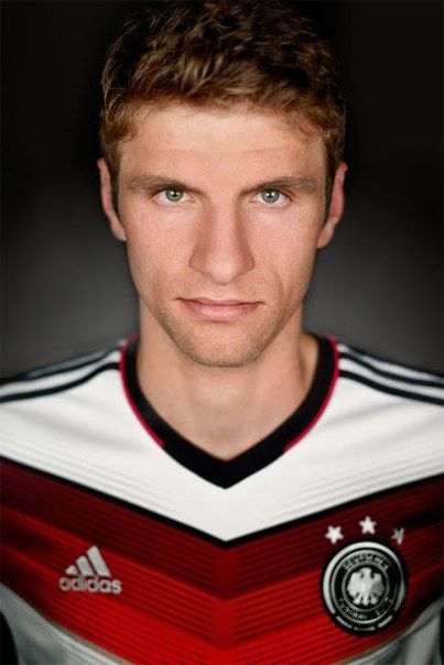 Thomas Müller. He's a cutie pie, but it is eerie how much he looks like our nephew Brady. They are close in age too, but Brady turned 28 last month ( April 2015 ) and I think Thomas will be 26 or maybe 27 in Sept.