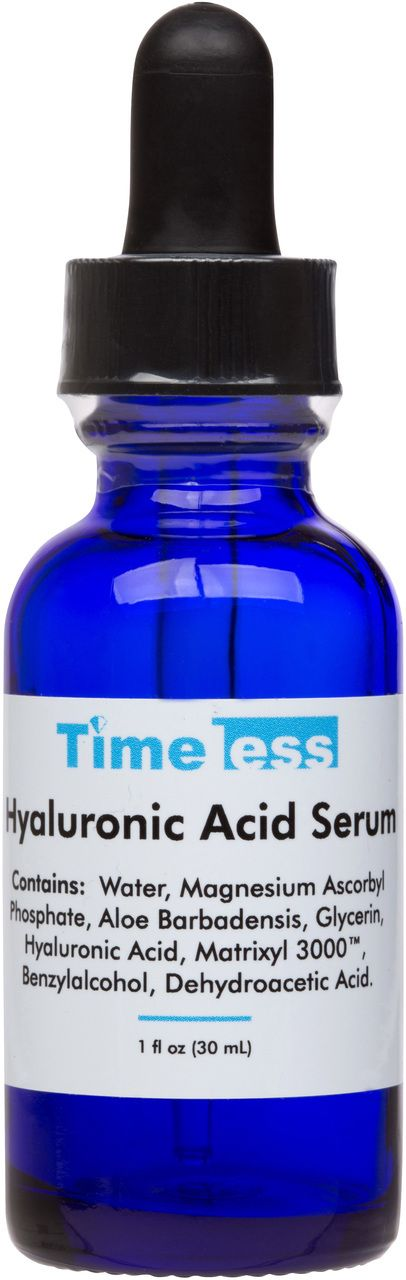 Hyaluronic Acid Vitamin C Serum 1 oz - Timeless Skin Care