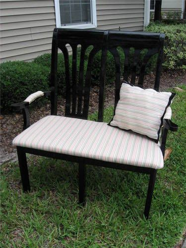 CRAFTSTER CRAFT CHALLENGES   my fiance and i made a loveseat from two  scratched and cheap chairs from a used furniture storethe two chairs we got  all of the. Best 25  Cheap chairs ideas on Pinterest   Cheap chairs for sale