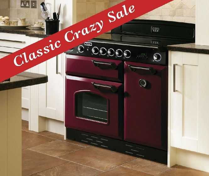 """""""SORRY SOLD!"""" - """"Classic Induction"""" 90cm 5-Zone Induction & Two Electric Ovens & Electric Grill RRP = $8,219 SAVE NOW $2,080* on our FLOORSTOCK Model in Cranberry (Burgundy) (ONE ONLY) NOW ONLY $6,219 - http://prestigeapplianceschatswood.com.au/page10.aspx"""