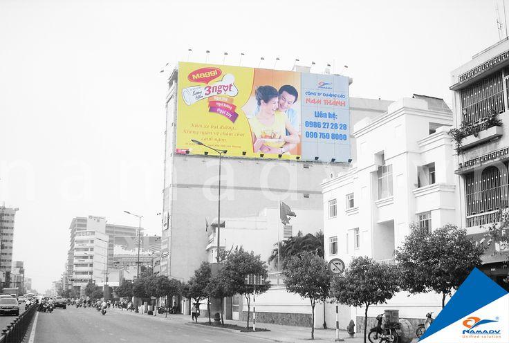 Bảng quảng cáo Maggi  -  68 Nguyễn Văn Trỗi, Phường 10, Quận Phú Nhuận, Tp.HCM