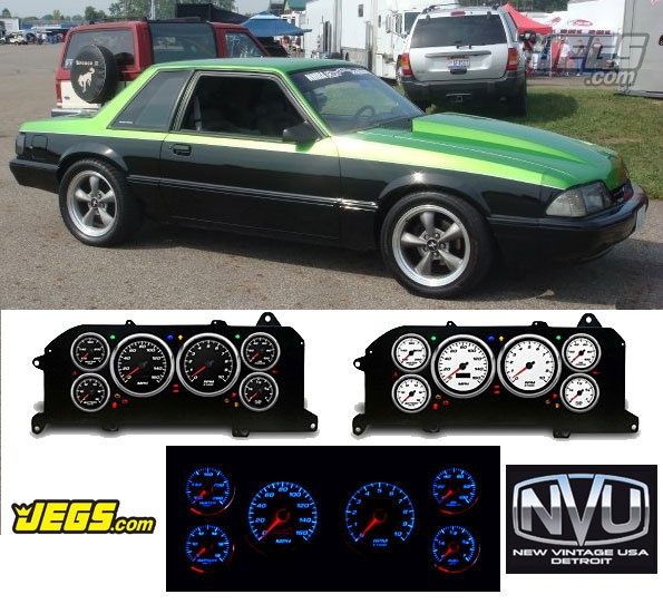 Are you a 87-93 Fox Body Mustang owner or fan?  We now carry these New Vintage USA instrument packages that fit into the original dash and have programmable warning lights and gauges! Check out more info here:http://www.jegs.com/p/NVU-New-Vintage/New-Vintage-1987-93-Mustang-Gauge-Packages/2784364/10002/-1