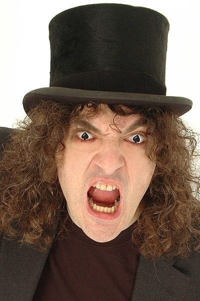 "The 10 best magicians: Jerry Sadowitz - Regarded as one of the best close-up magicians in the world, Sadowitz has a way with words, most of them profane, which is one reason he will never be mainstream. His misanthropy is well documented, but his blend of intricate trickery and uncompromising gags is a clever formula – a laughing audience is unable to pay full attention to his hands. He has little time for more grandiose magicians, who he claims have ""made magic irritating to the public"""