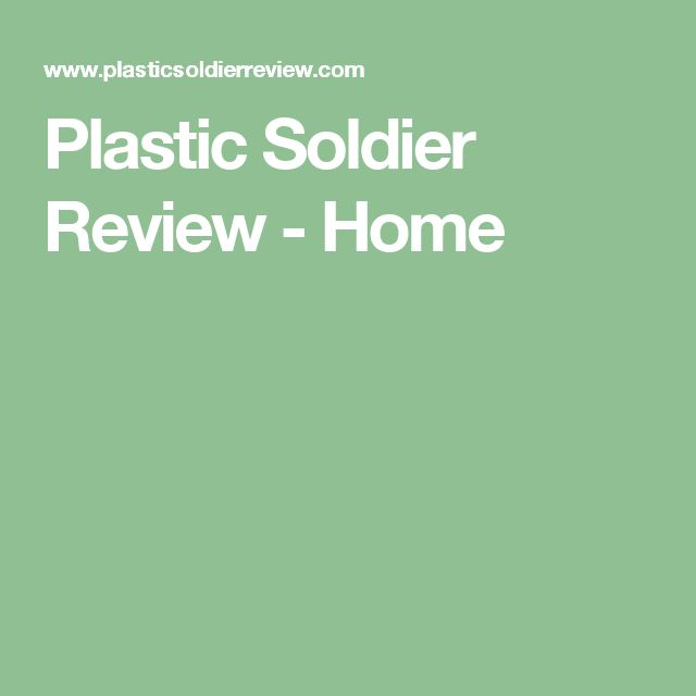 Plastic Soldier Review - Home