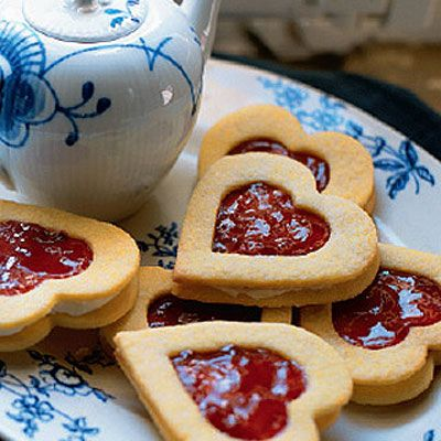 Try these jammy hearts for a sweet treat: http://www.waitrose.com/content/waitrose/en/home/recipes/recipe_directory/j/jammy_dodgers.html