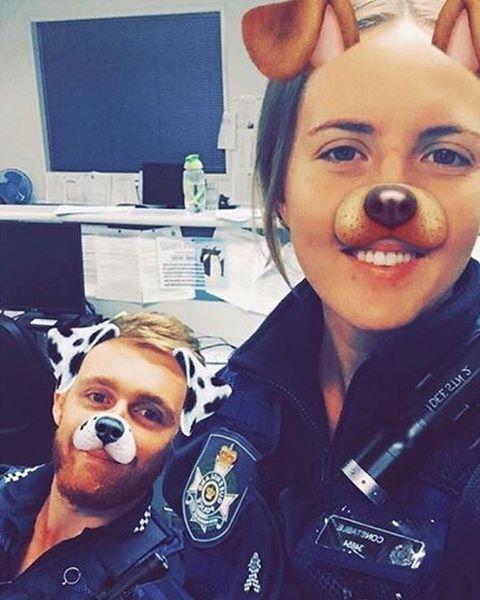 Night shift complete ✔️ #dogtired #policedogs #k9cops #townsville #copsaretops #qps #qpsmedia #qldpolice #queenslandpolice
