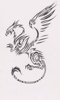 griffin tattoo design - Google Search