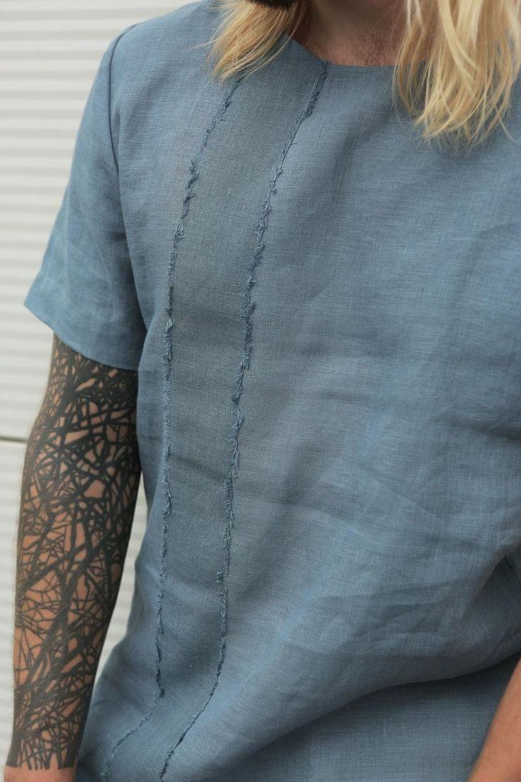 Designer T Shirt 100 Linen Sistainable Fashion Men Slinentsirt Menstshirt Linentshirt Summertshirt Basi Mens Fashion Quotes Linen Tshirts Fashion