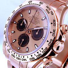 ROLEX DAYTONA 116505 PINK EVEROSE GOLD PINK DIAL OYSTER BRACELET