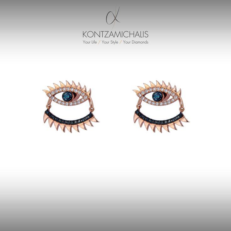 Make an eye-catching fashion statement!  #KontzamichalisJewellery