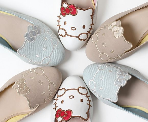 Hello Kitty shoes will make your feet cuter than ever