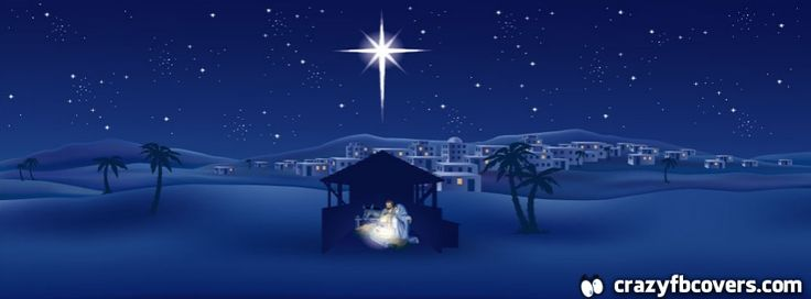 Christmas Nativity Facebook Cover Facebook Timeline Cover | Crazy ...