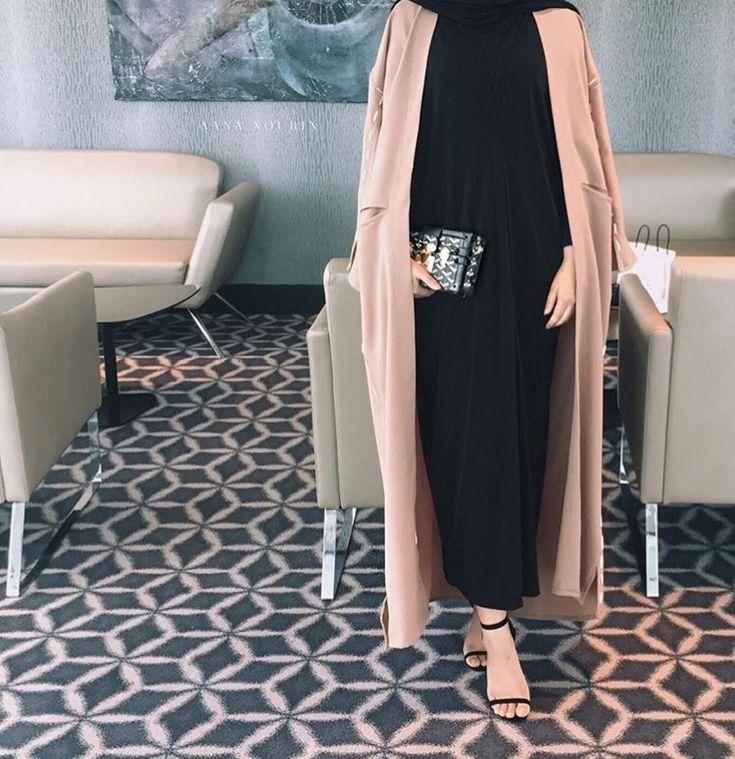IG: Aana_Nourin || IG: BeautiifulinBlack || Abaya Fashion ||