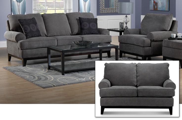 Dark Grey Living Room Furniture Custom Inspiration Design