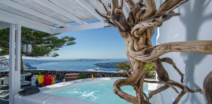Rent the finest villas in Santorini www.rethinkgreeceretreats.com