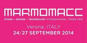Saremo presenti alla Marmomacc 2014 di Verona We will be present at Marmomacc 2014 of Verona, Italy # marmomacc