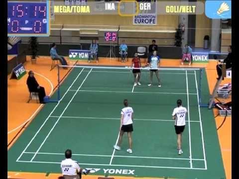 Badminton 35th Yonex Hungarian Championship Tomalova - Megawati vs Goliszewski - Nelte