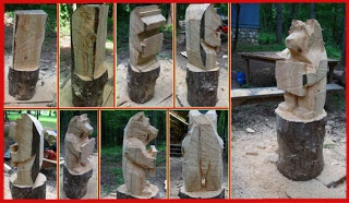 chainsaw carving step step instructions