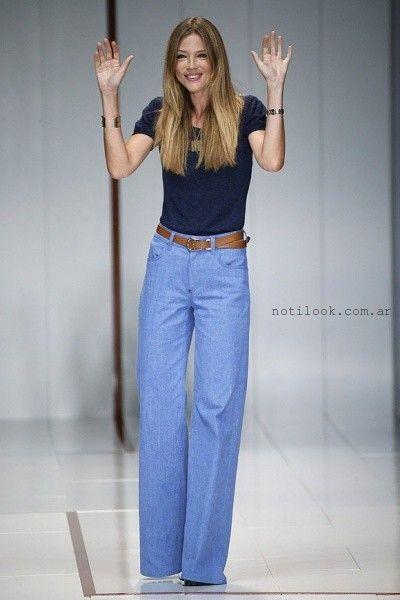 pantalones de jeans tiro alto anchos – tenencias pantalones de jeans – Noticias de Moda Argentina