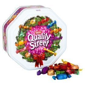 Quality Street Chocolates Tin Special Edition