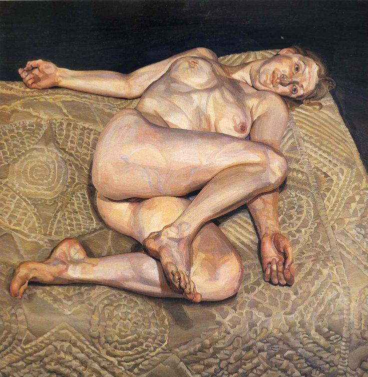 Ночной портрет, 1978 Люсьен Фрейд (Lucian Freud) - британский художник-фигуративист, известный своими портретами и обнаженной натурой. Биография, картины: http://contemporary-artists.ru/Lucian_Freud.html