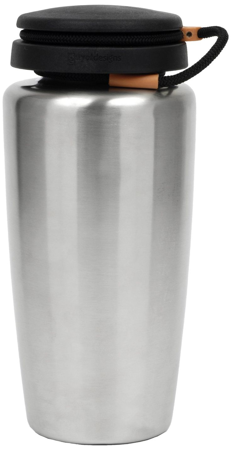 Nalgene Backpacker 32 Oz Stainless Steel Bottle. Made from surgical grade 316 (18/10) stainless steel that resists tastes and odors and is easy to clean. Unlike aluminum bottles, these bottles have no lining of any kind. The wide mouth accommodates ice cubes and water filtration devices.
