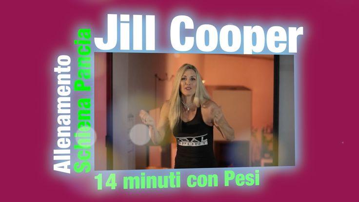 Jill Cooper - Allenamento con i Pesi! Schiena Pancia