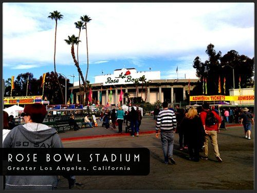The Rose Bowl is a great place to catch a game or just go for the swap meet! Rose Bowl Stadium Reviews  Pasadena, California