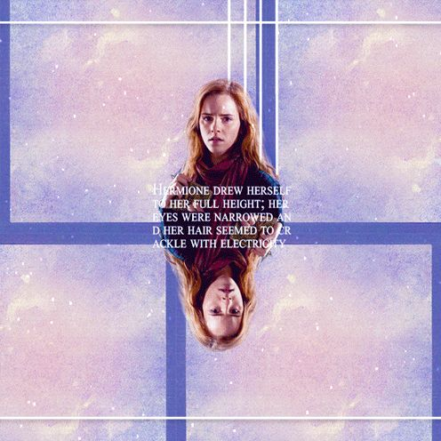 """Hermione Granger; """"You said to us once before, that there was time to turn back if we wanted to. We've had time, haven't we?"""""""