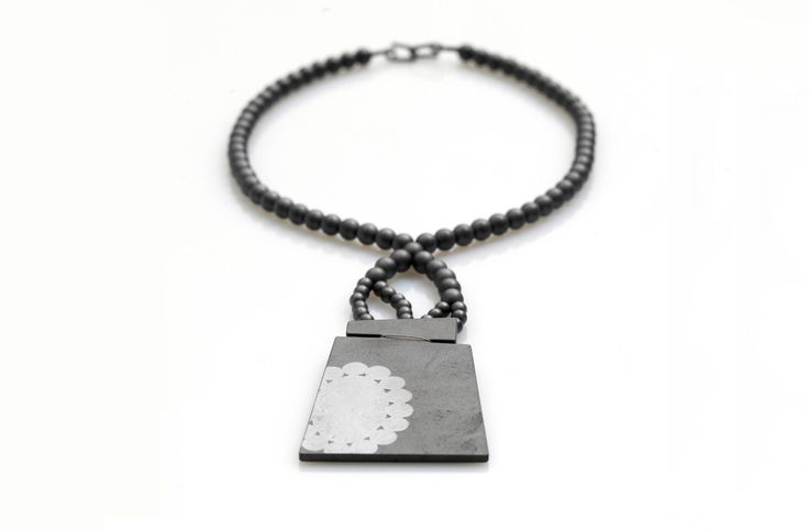 Necklace. Hematite.