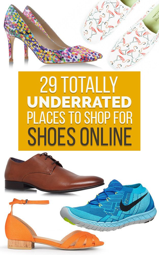 29 Totally Underrated Places To Shop For Shoes Online