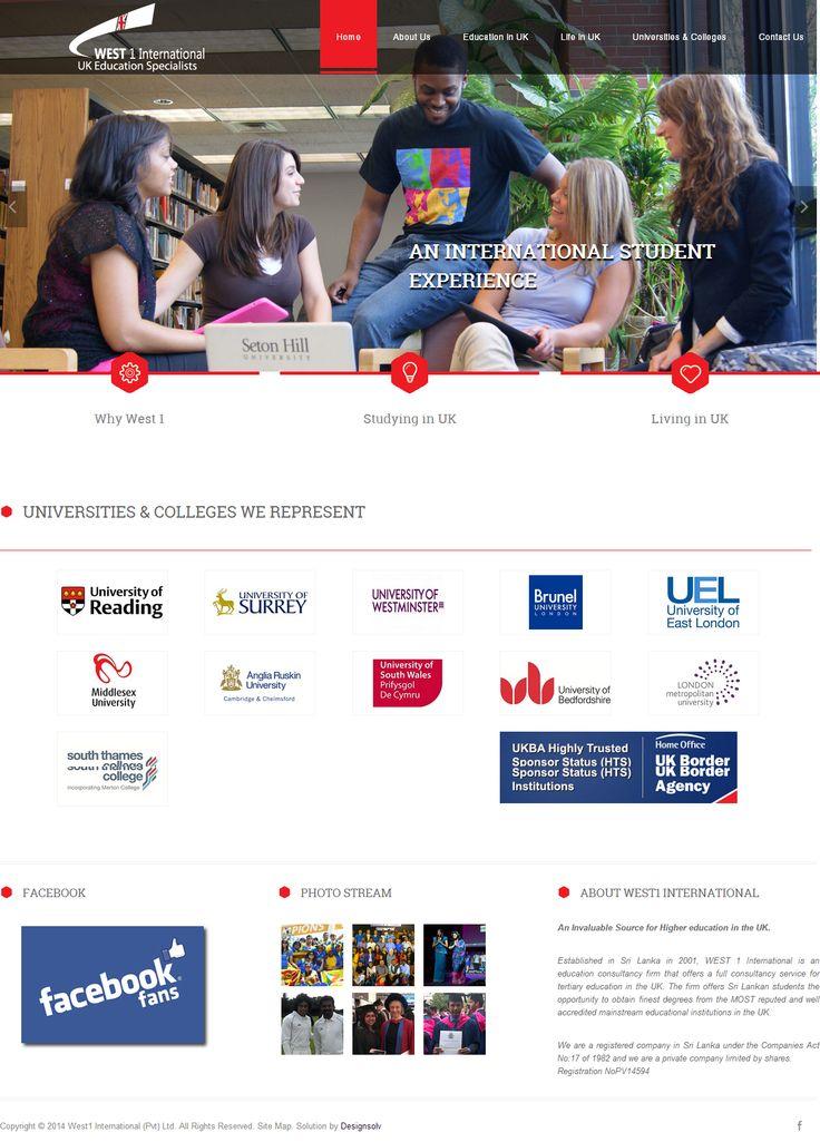 West1 International Website