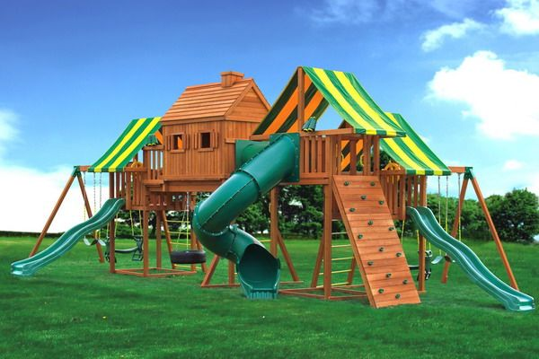 Backyard playgrounds playground equipments