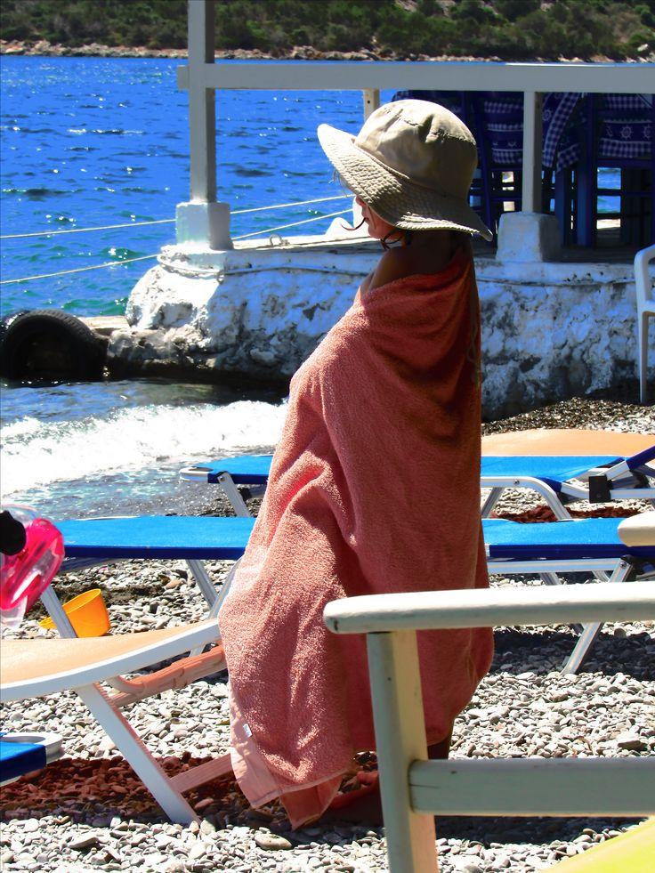 Summer in Ag. Nikolaos, Fokida.